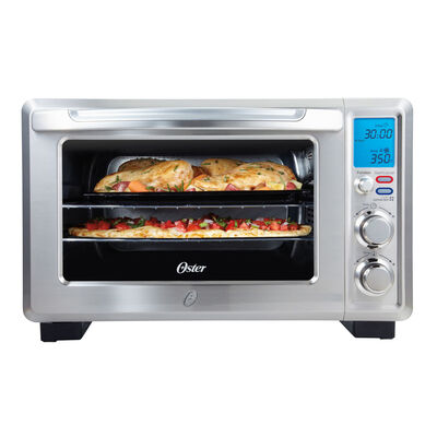 Oster® Inspire™ 6-Slice Digital Convection Countertop Oven, Stainless Steel