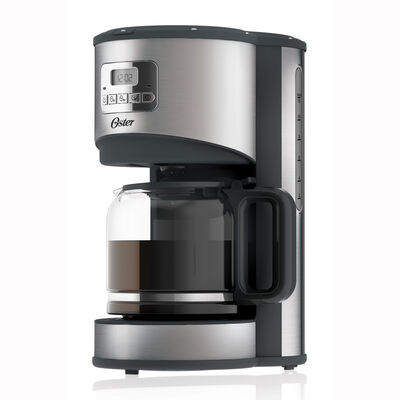 Oster® 12-Cup Programmable Coffee Maker, Stainless Steel