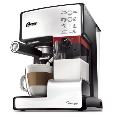 Oster® Prima Latte™ 15-Bar Pump Espresso, Cappuccino & Latte Machine, White