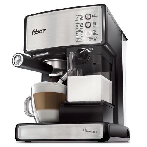 Oster® Prima Latte™ 15-Bar Pump Espresso, Cappuccino & Latte Machine, Stainless Steel