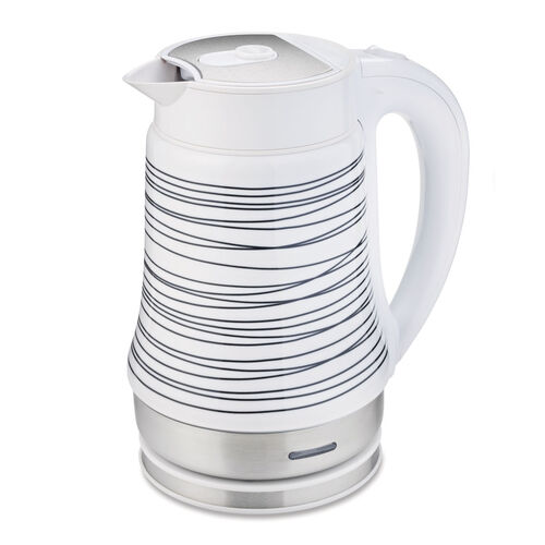 Oster® 1.7L 360° Ceramic Electric Kettle, White