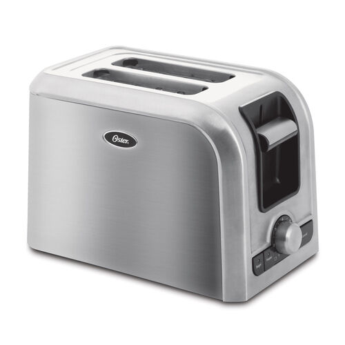Oster 4 Slice Long Slot Toaster At Oster Com: Oster® 4-Slice Long-Slot Toaster, Stainless Steel