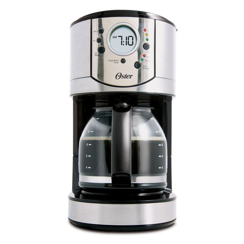 Oster® 12-Cup Programmable Stainless Steel Coffee Maker