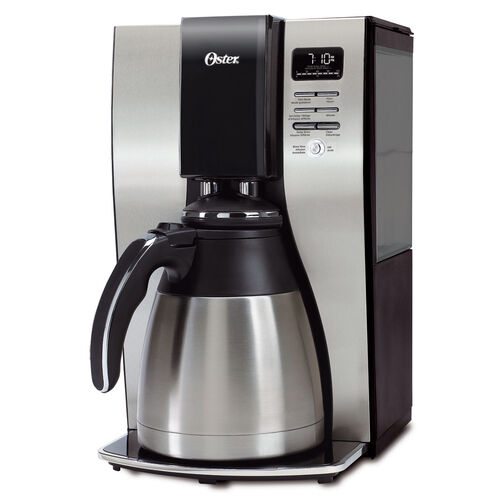 Oster® 10-Cup Optimal Brew™ Thermal Programmable Coffeemaker, Stainless Steel