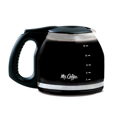 12 Cup Glass Carafe by Mr Coffee®, Black