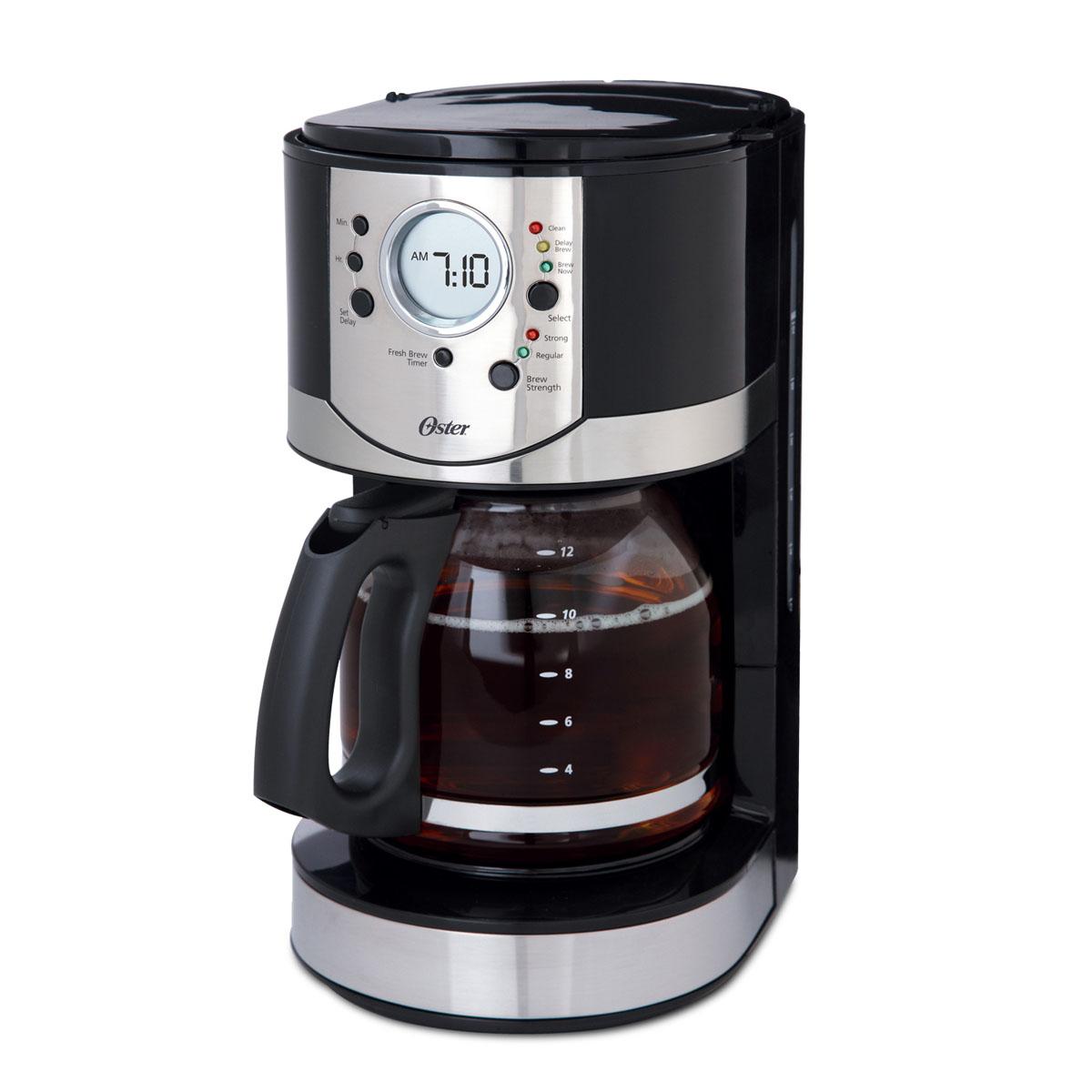 Oster 12 Cup Programmable Coffee Maker Bvstcj0027 033