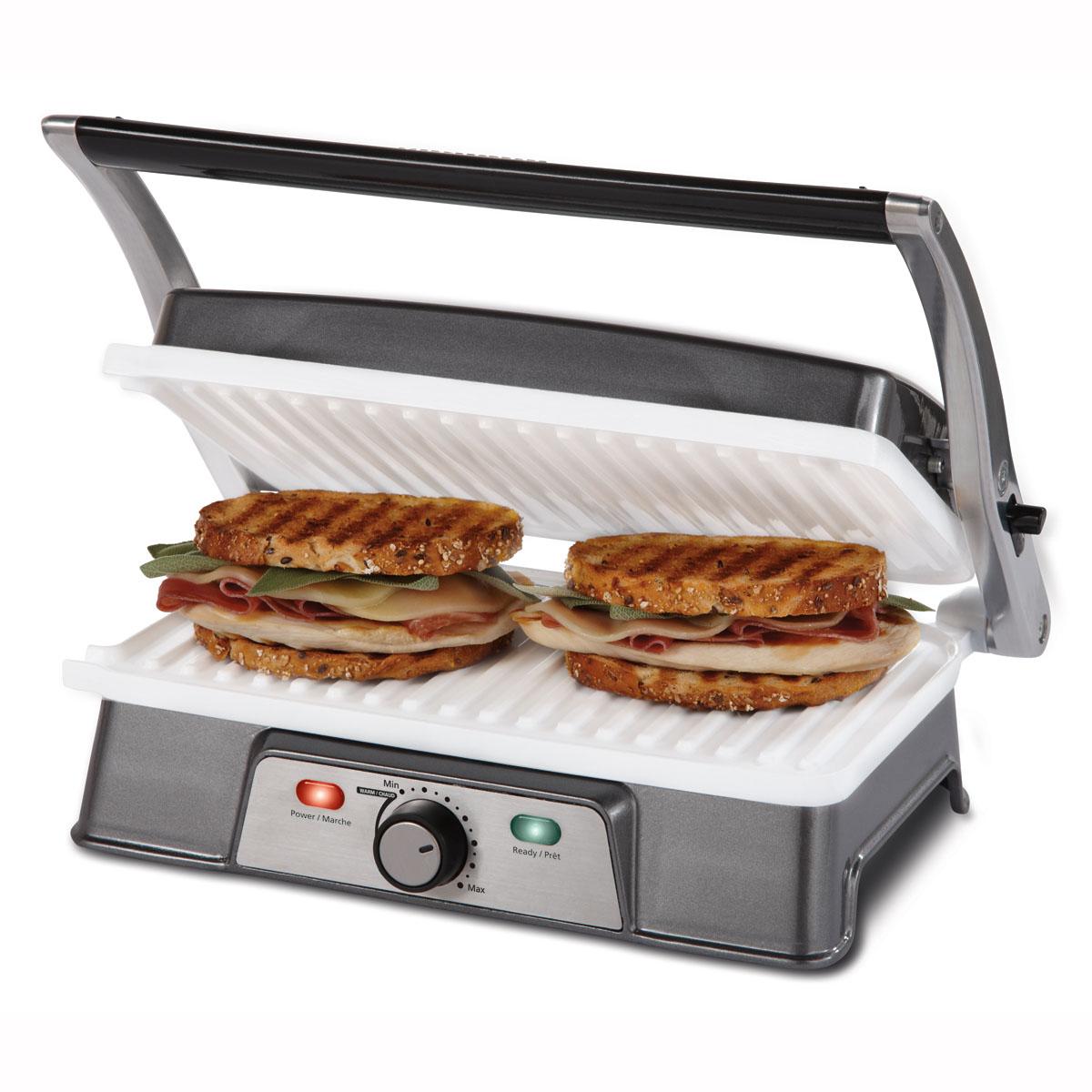 Oster® DuraCeramic™ Panini Maker & Grill
