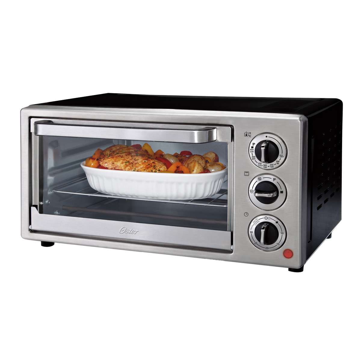 Oster? 6-Slice Convection Countertop Oven, Stainless Steel TSSTTVF815 ...