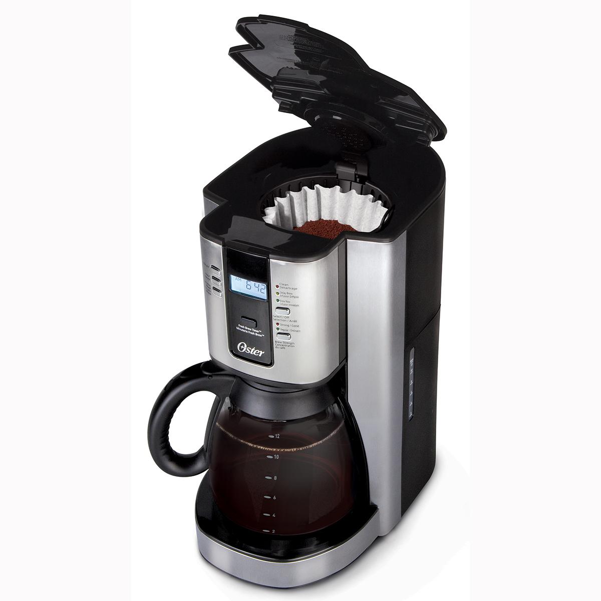 Cafeti Re Oster Programmable 12 Tasses En Acier Inoxydable Bvsttjx37 033 Oster Canada