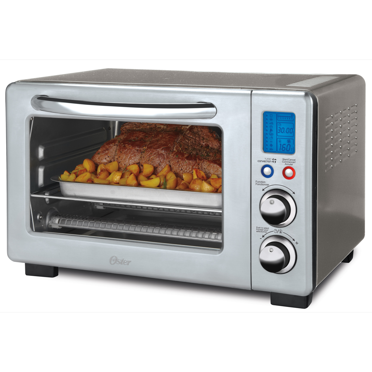 Slice Toaster Oven With Spots ~ Oster slice digital countertop oven with convection