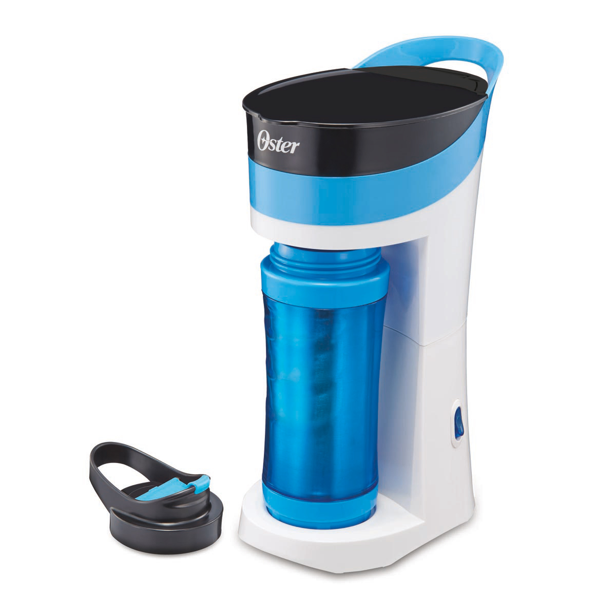 Coffee Maker Brew And K Cup : Oster Pour! Brew! Go! Single Cup Coffee Maker, Blue BVSTMYBB-31LD Oster Canada