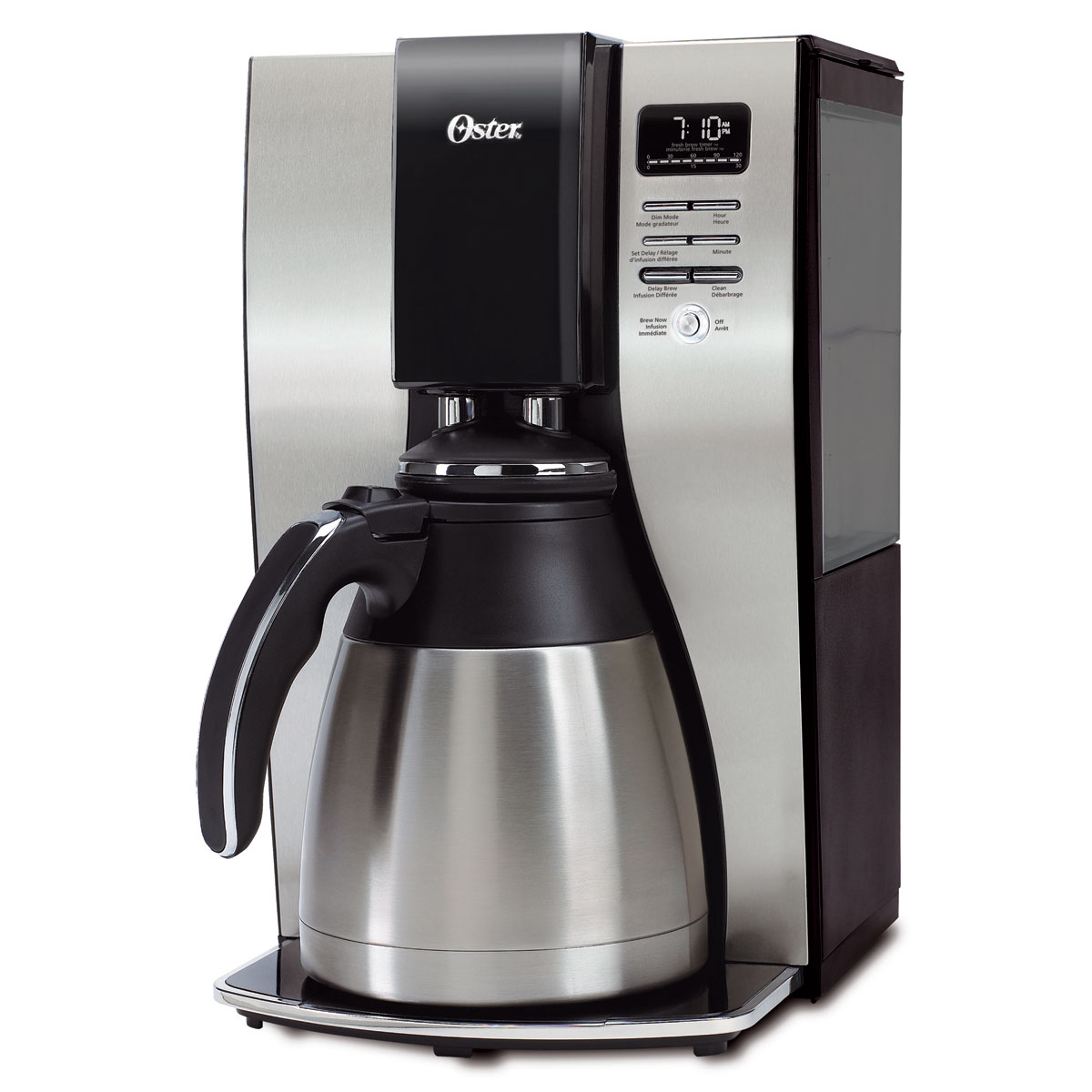 Oster Coffee Maker Delay Brew : Oster Optimal Brew Thermal Coffeemaker BVSTPSTX91-033 / -33A / -033-1CT Parts Oster Canada