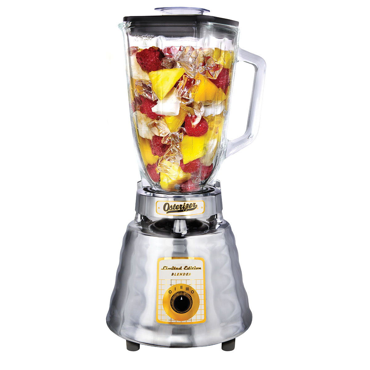 Kitty In A Blender ~ Oster anniversary edition blender with bonus recipe book