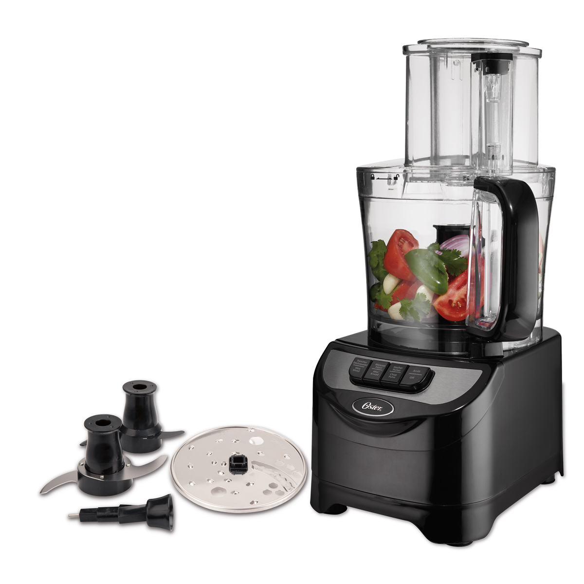 Oster Total Prep  Cup Food Processor With Dough Blade