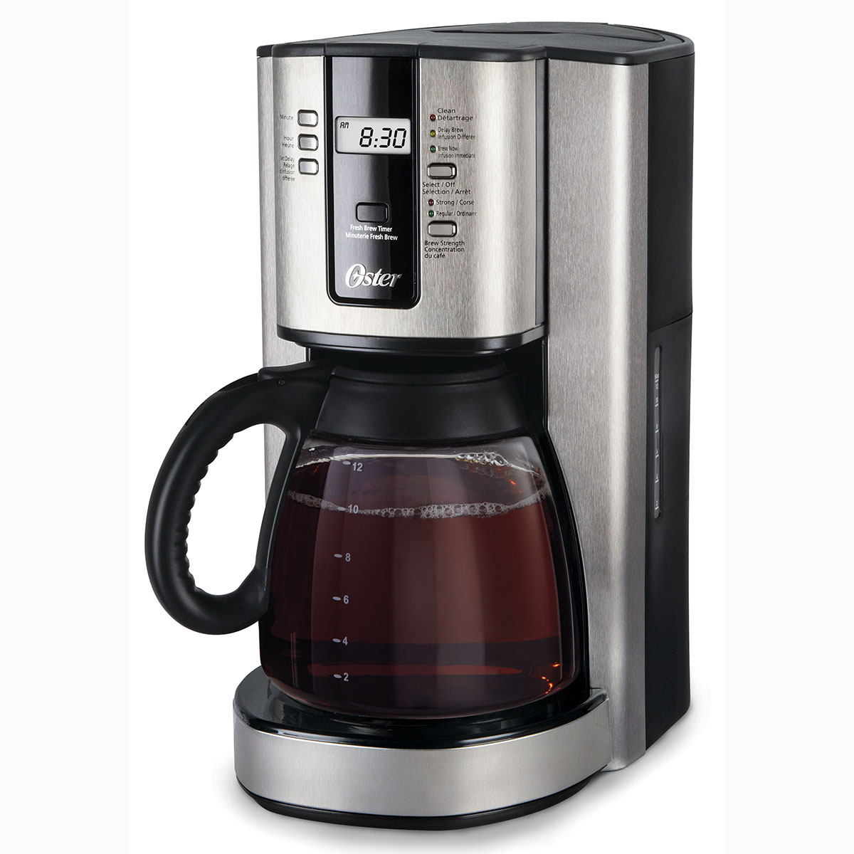 Oster 12 cup programmable coffee maker bvsttjx37 033 Coffee maker brands