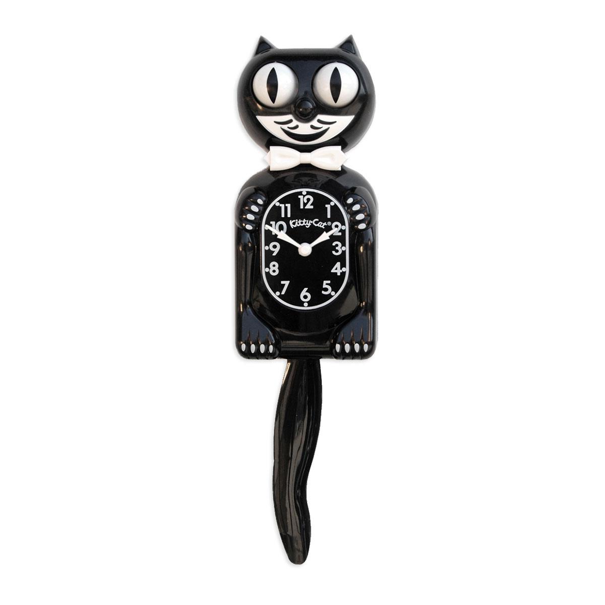 m langeur d anniversaire oster avec livre de cuisine et horloge classique kit cat noire en. Black Bedroom Furniture Sets. Home Design Ideas