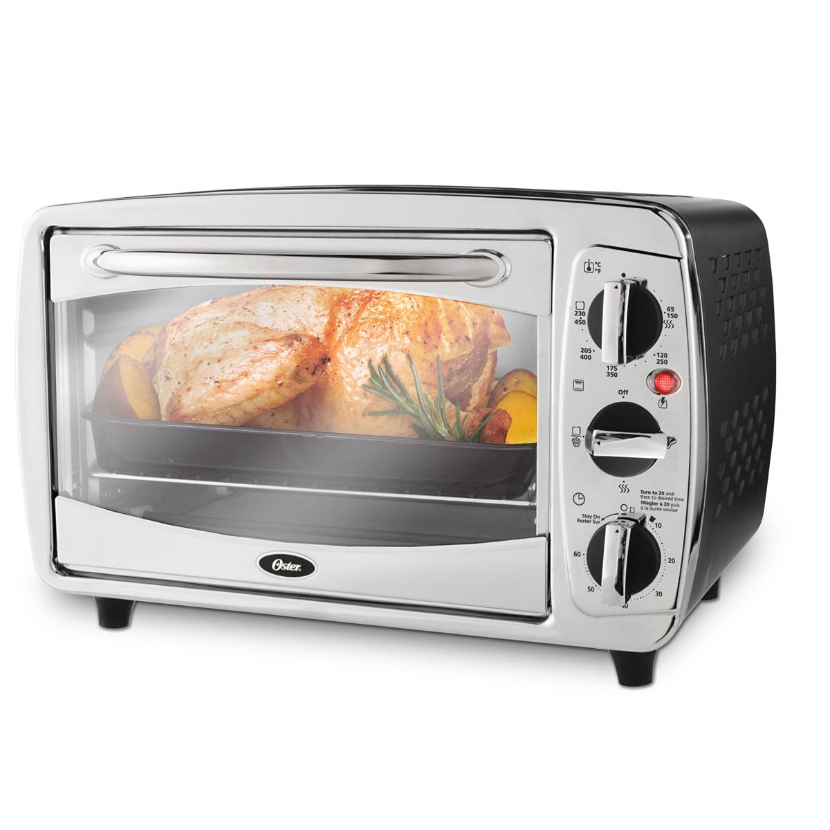Oster 174 6 Slice Countertop Oven Stainless Steel Tssttv0000