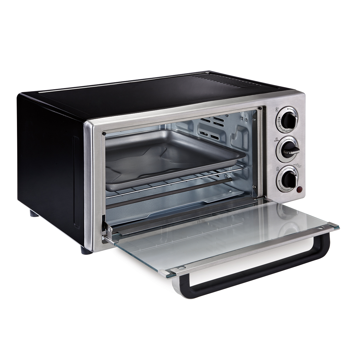 oster toaster oven oster 174 6 slice convection countertop oven stainless steel 31394