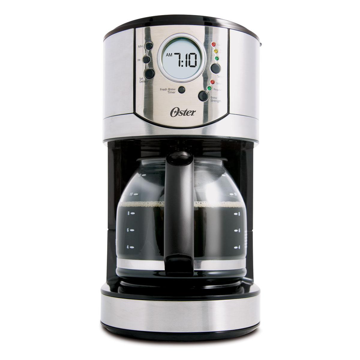 Oster 12 Cup Programmable Stainless Steel Coffee Maker Bvstcj0031