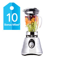 Get 10 bonus AIR MILES® Reward Miles with the purchase of all in stock blenders between July 5, and August 31, 2016. Limit of one bonus offer on this item per collector number per transaction. Does not reflect any promotional discounts applied at checkout.