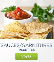 Sauces/Garnitures
